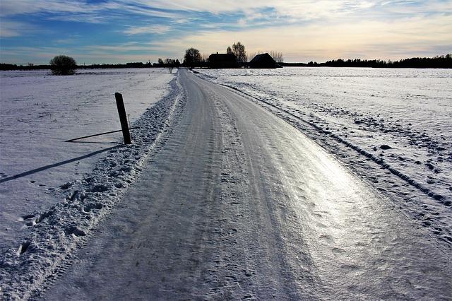 ledová cesta