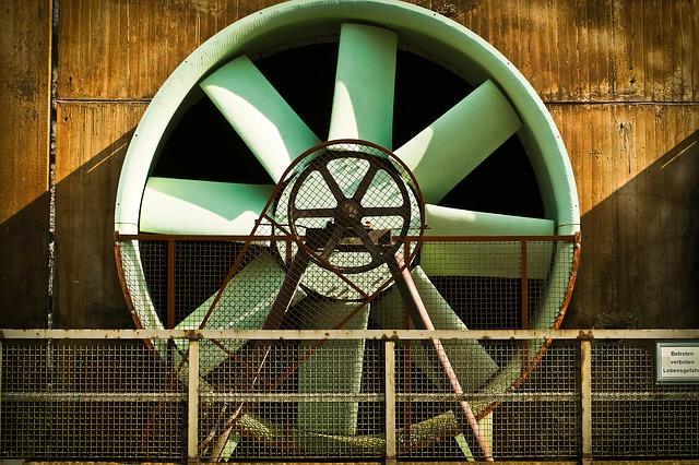 ventilační turbína
