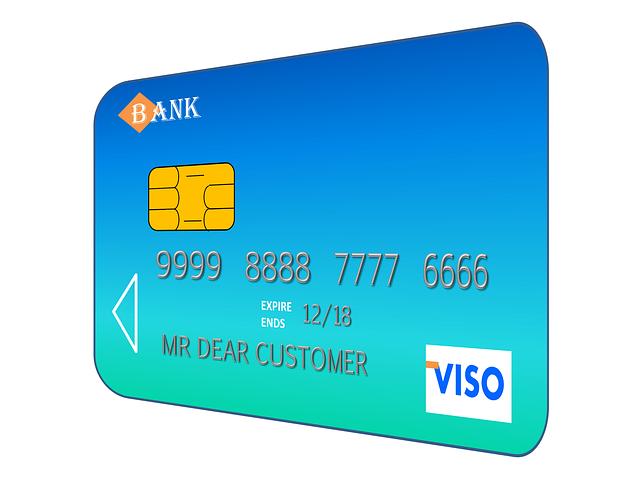 údaje kreditky